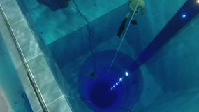 Przerażające wideo z najgłębszego basenu na świecie