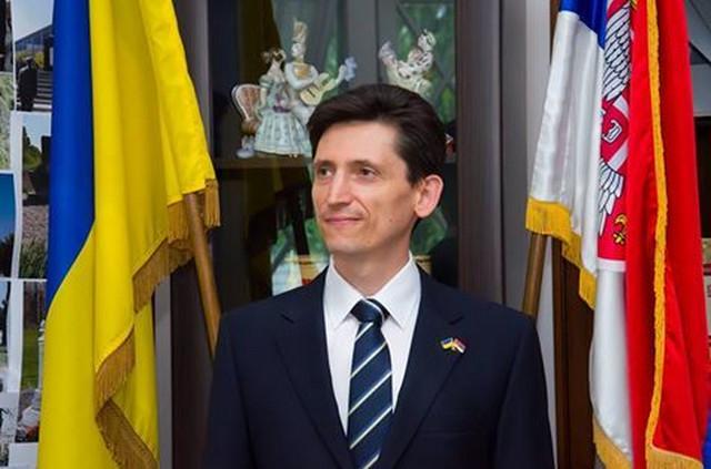 Oleksandr Aleksandrovič, ukrajinski ambasador u Srbiji