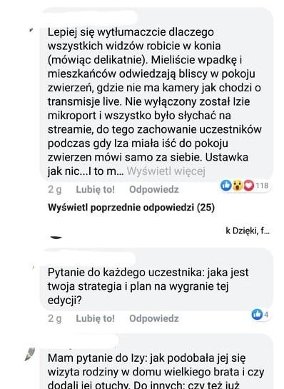 """Big Brother"": komentarze internautów"