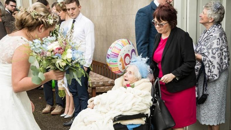 Meet the 100-year-old bridesmaid