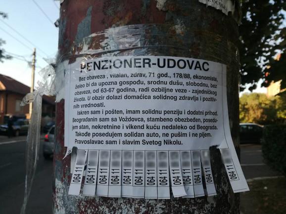 Oglas koji je oduševio Beograđane