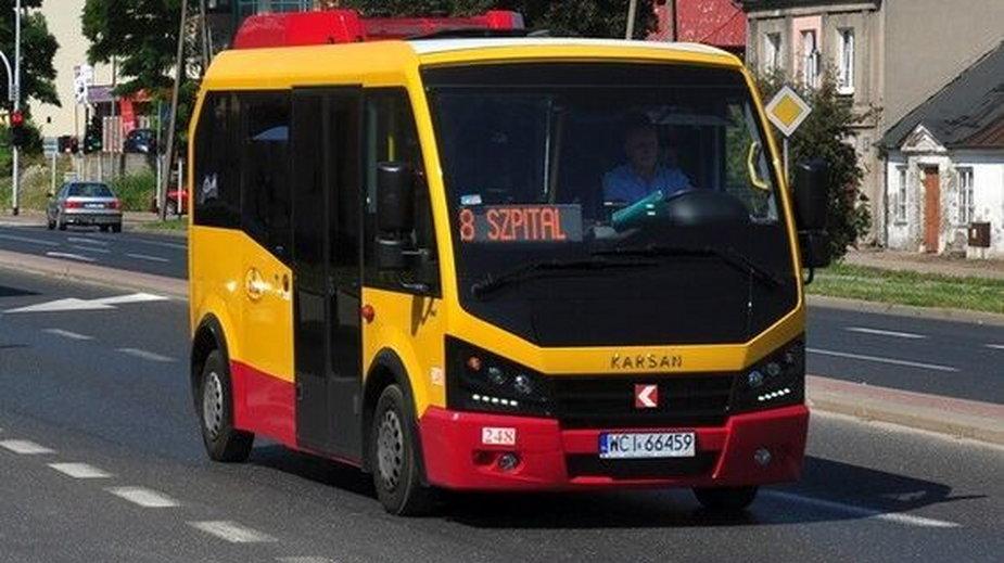 autobus testowy