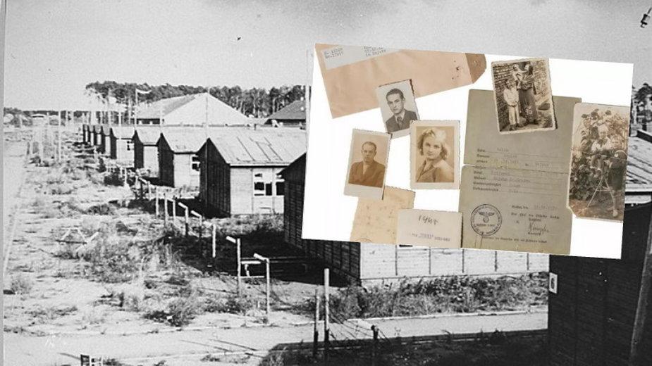 Baraki w obozie Stutthof i rzeczy znajdujące się w archiwum Arolsen