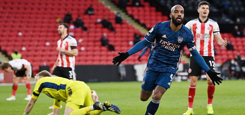 Sheffield United - Arsenal: Lacazette bohaterem, gospodarze krok od spadku z Premier League
