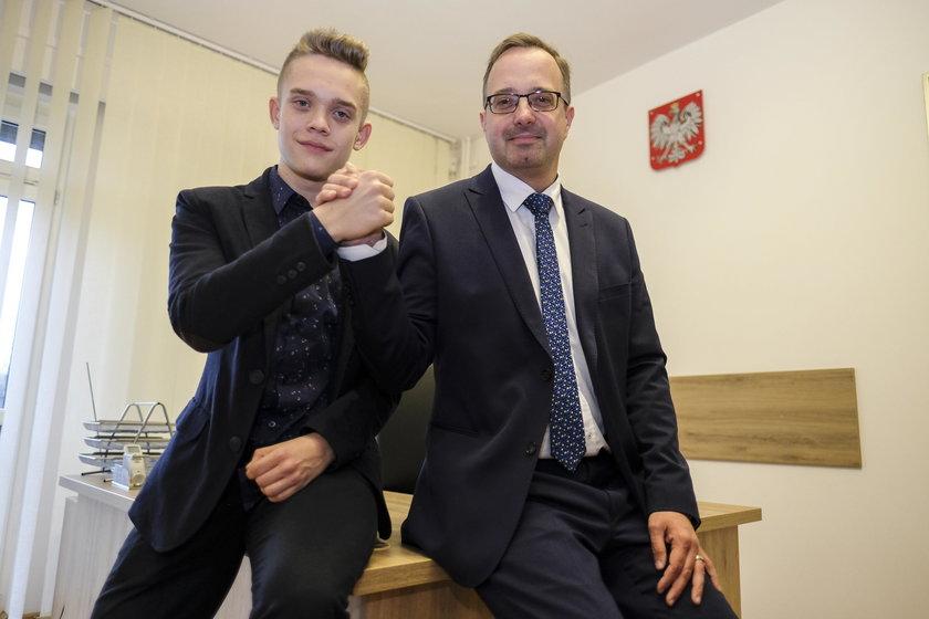 16-latek z Zawiercia został wiceprezydentem!