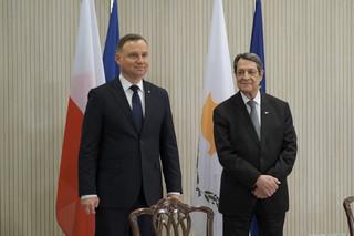 Migracja jednym z głównych tematów spotkania prezydentów Polski i Cypru