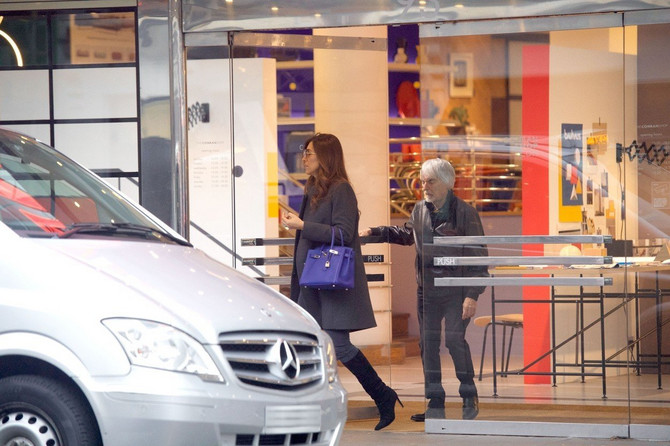 Fabijana i Berni u šopingu