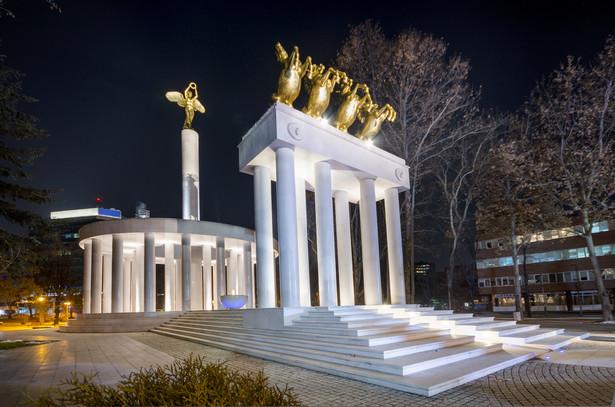 Skopje - Monument of Heroes