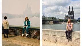 Odtworzyła swoją podróż i zrobiła dokładnie takie same zdjęcia jak 30 lat temu