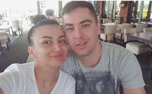 Andreana Čekić i ljubavnik