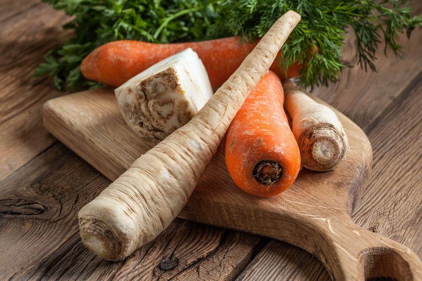 Warzywa na wywar do zupy