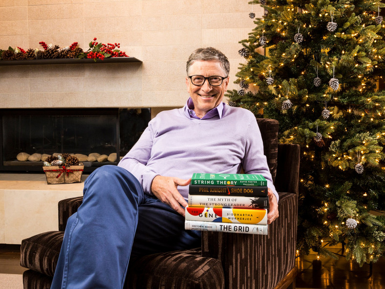 Bill Gates shares his reading list