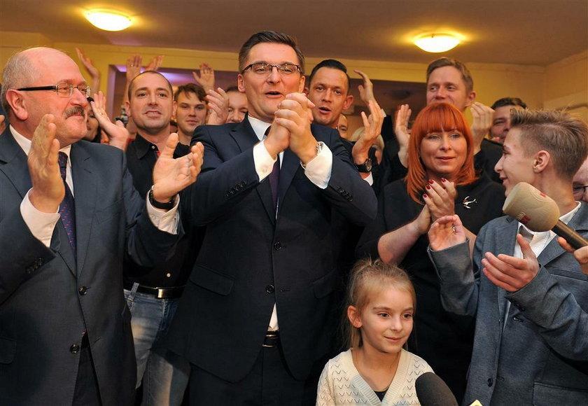 Wygrana kampania wyborcza Marcina Krupy