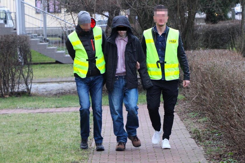 Bomber z Lubartowa. W jego mieszkaniu policja znalazła prawdziwy arsenał
