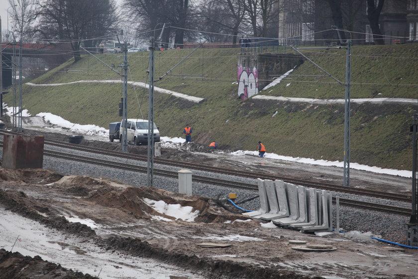 Budowa przystanku SKM Gdańsk Śródmieście