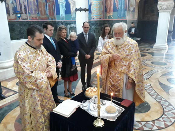 Princ Filip je sa porodicom slavu Karađorđevića proslavio na Oplencu