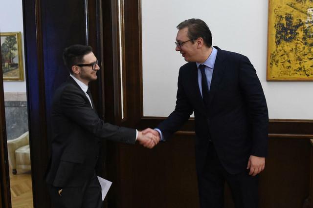 Aleks Soros i Aleksandar Vučić danas u Beogradu