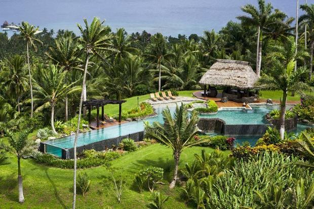 Hilltop Villa, Laucala