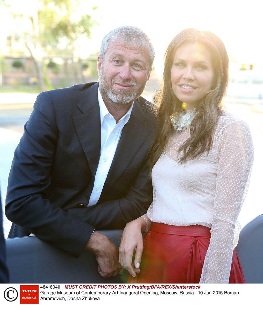 Właściciel Chelsea rozstał się z piękną Daszą