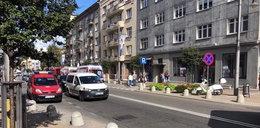 Dramat w Gdyni. Rusztowanie spadło na przechodniów!