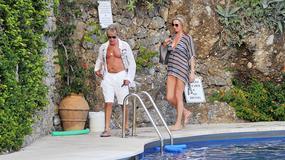 Rod Stewart z żoną na wakacjach. Dokąd wyjechali? Zobacz gorące zdjęcia!