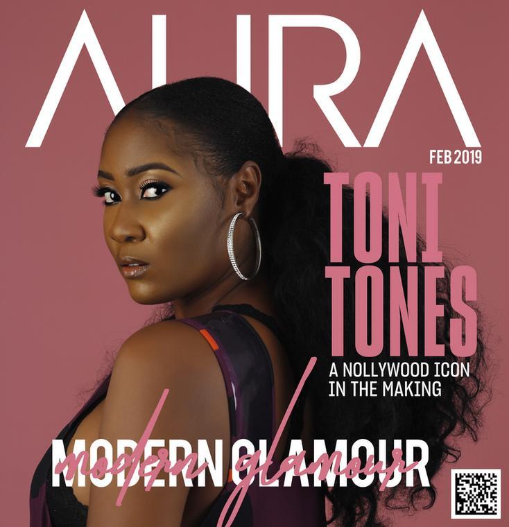 Toni Tones Aura Magazine 1