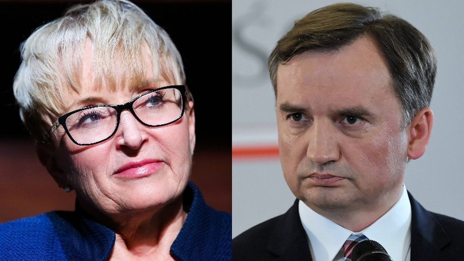 Beata Morawiec i Zbigniew Ziobro