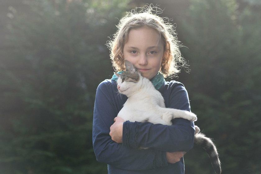 Wielkie serce 10-letniej Liwii!