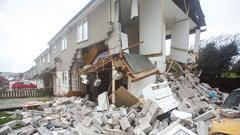 Wybuch gazu zniszczył dom. To była potężna eksplozja. ZDJECIA