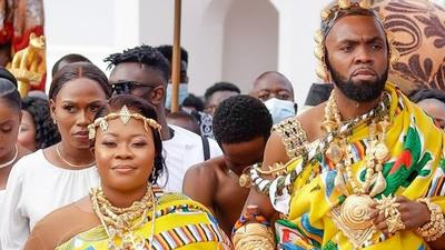 From mini-brass band to gifts, here's how Obofour surprised his wife on her birthday (VIDEO)