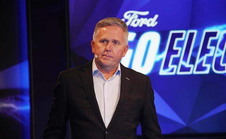 Stuart Rowley, prezes Ford of Europe
