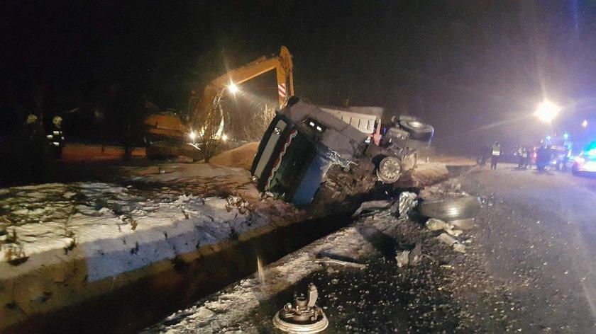 Tragiczny wypadek we wsi Zbiroża