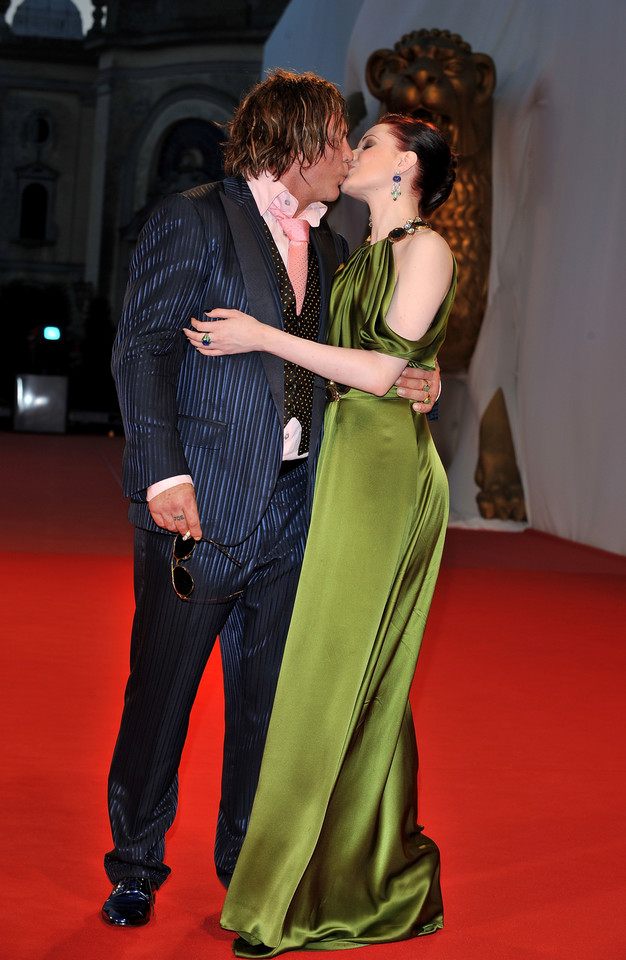 Mickey Rourke i Evan Rachel Wood