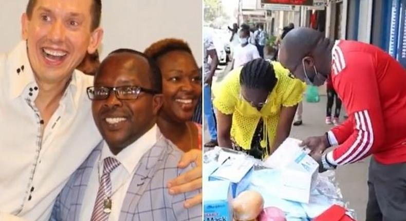 From Millionaire to Hawker - How Muthee is rebuiding his life from scratch