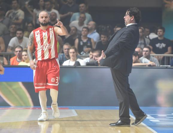 Detalj sa drugog meča finalne serije KLS-a između Partizana i Crvene zvezde