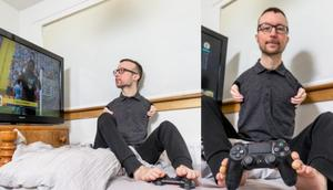 Watch: This guy plays FIFA with his feet and is among the best in the world