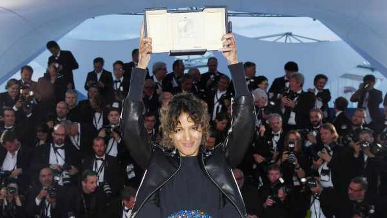Mati Diop,first black woman to win awards at the Cannes Film Festival (Getty)