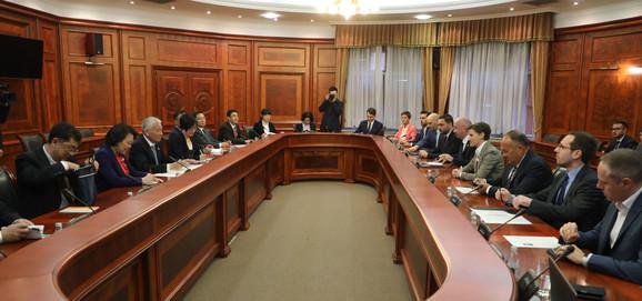 Sastanak, Ana Brnabić, Srbija i Kina o tehnološkim inovacijama