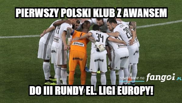 Legia odpadła z eliminacji Ligi Mistrzów. Memy po meczu ze Spartakiem Trnava