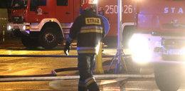 Pożar w szpitalu w Lesznie. Pacjent podpalił łóżko