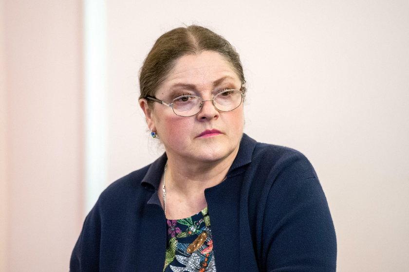 Atak na biuro Krystyny Pawłowicz