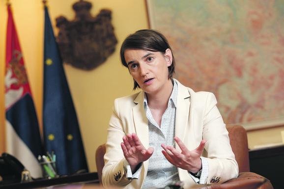 Podrška i od premijerke Ane Brnabić