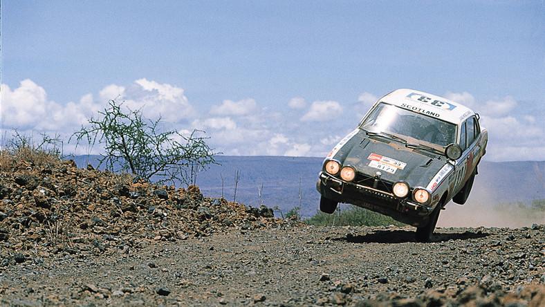 Rajd Safari 1975 rok. Za kierownicą Andrew Cowan