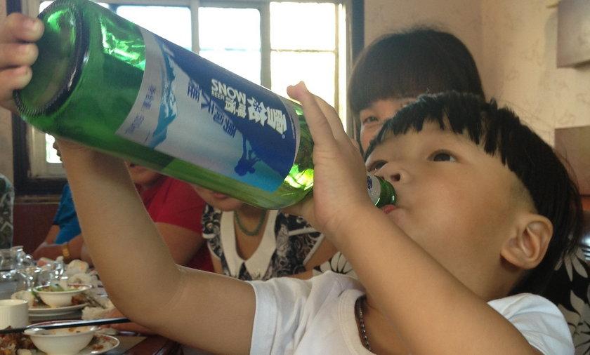 Najmłodszy alkoholik świata