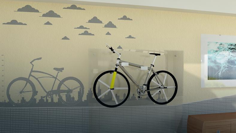 Rower w pokoju