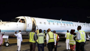United Nigeria flight (African Courier)