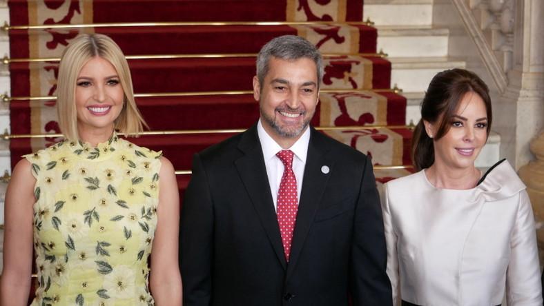 Córka prezydenta Trumpa odbywa obecnie podróż po krajach Ameryki Południowej i to tam..