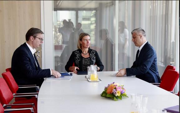 Brisel, Dijalog, Vučić, Tači