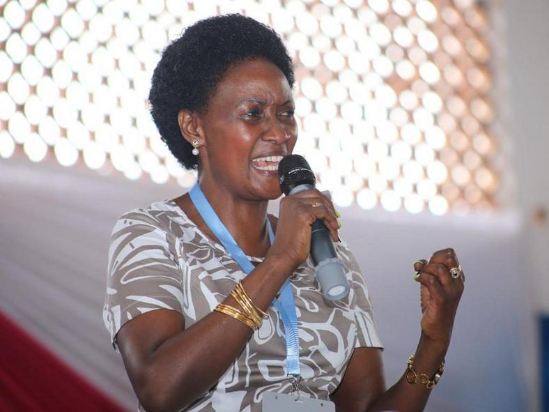 TSC CEO Nancy Macharia during a past function