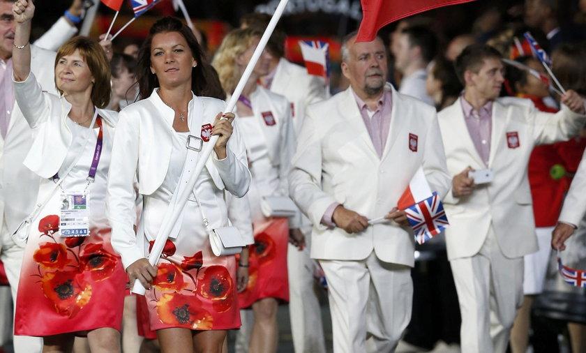 agnieszka radwańska otwarcie igrzysk olimpijskich